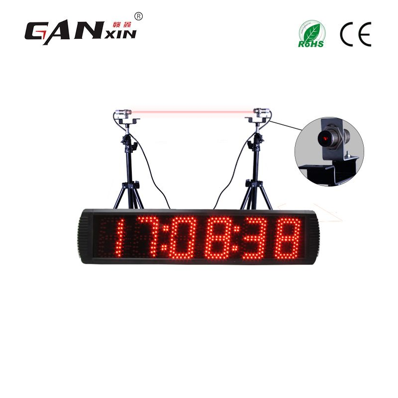 [Ganxin] Led rennen timing clock elektronische lap timer digitale countdown laser timer
