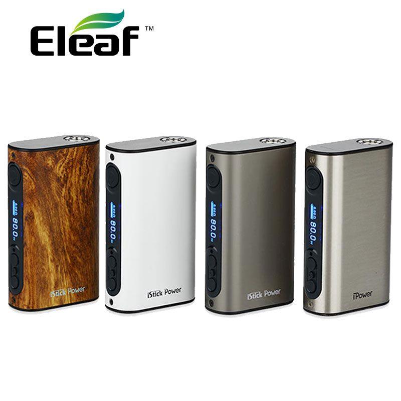 Eleaf iPower 80 W TC MOD 5000 mAh batterie intégrée cigarette électronique eleaf istick ipower Box Mod pour Melo 3 réservoir vs IKuun I200