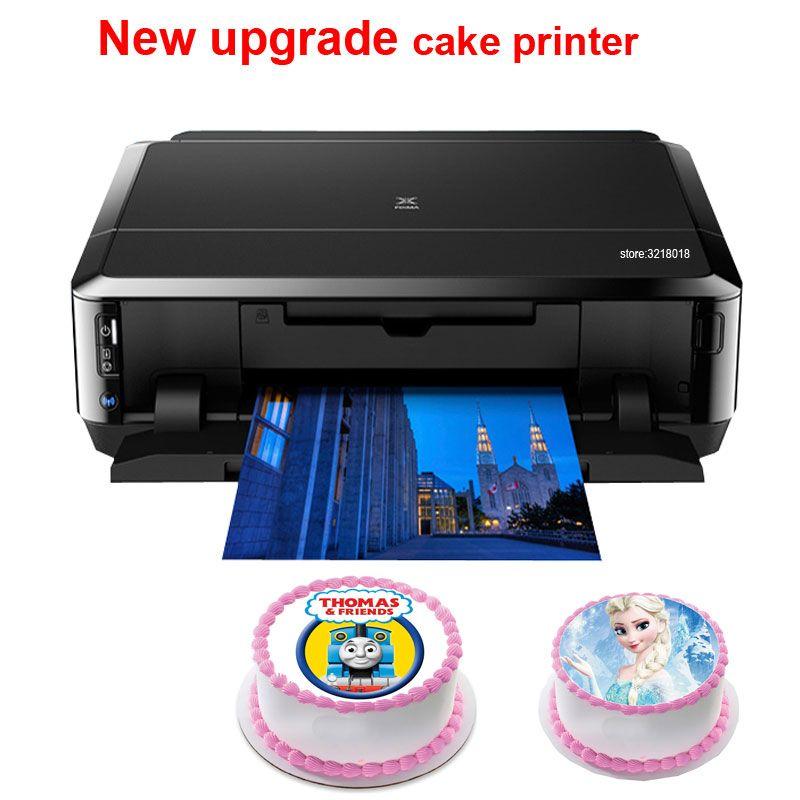 Digital cake printer for Canon ip7260 or MG5660 lollipop chocolate food rice paper printer