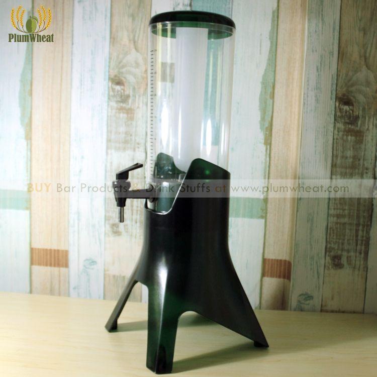 3 liter Premium Welt Tasse Bier Turm Dispenser mit Eis Rohr BT06