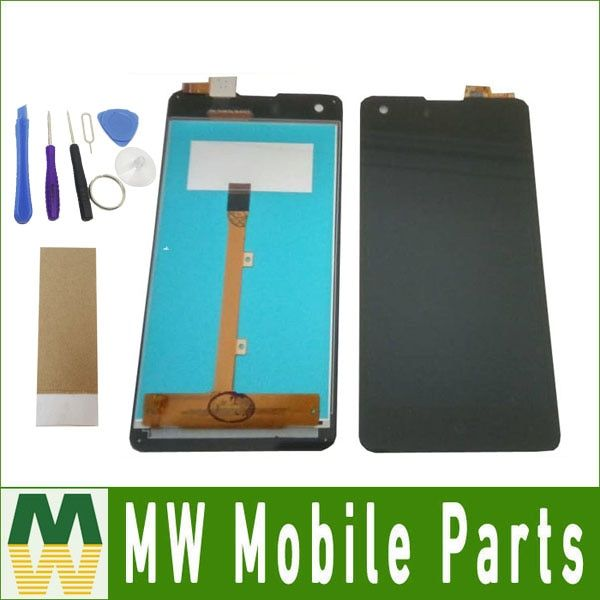 Original Quality For Highscreen Omega Prime S 4.7 inch LCD Display+Touch Screen Digitizer Assembly Black Color with tools+tape