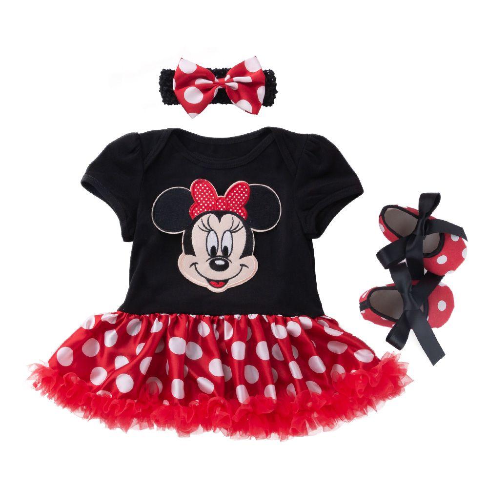 Dessin animé bébé costume coton nouveau-né bébé fille vêtements noël bébé ensemble Roupa Infantil Bebek Giyim infantile vêtements 4 pièces bébés ensemble