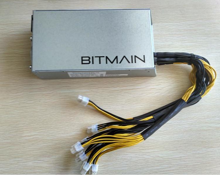 Пересылка в течение 24 часов оригинальные bitmain 1600 Вт источника питания, 6pin * 10 Antminer apw3 + +-12-1600, ETH PSU, antminer S9 S7 L3 PSU