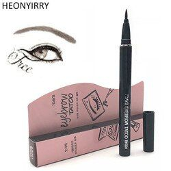 Eyebrow Enhancers Women Makeup Product Waterproof Brown 7 Days Eye Brow Eyebrow Tattoo Pen Liner Makeup