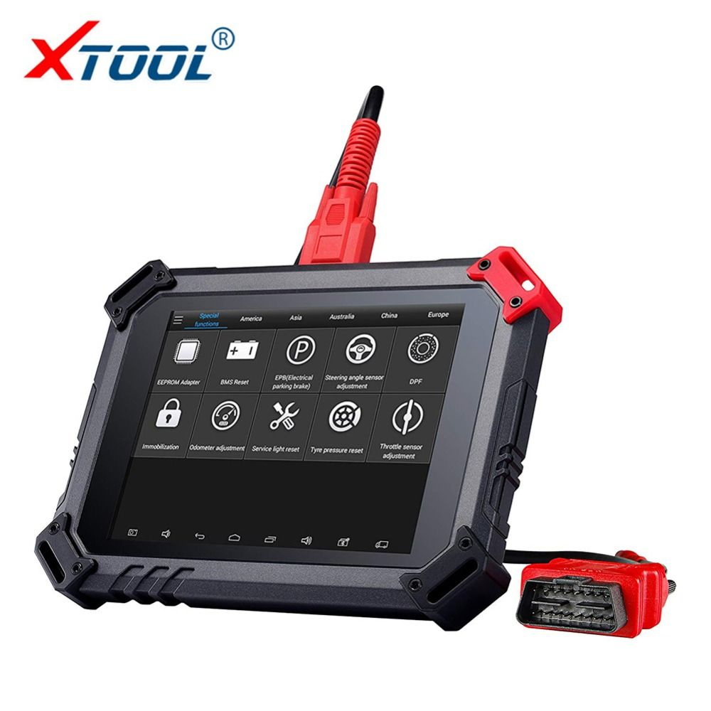100% Original XTOOL ez500 Diagnosis System with WIFI Online Update the Same Function Code Reader Key Programmer Free Shipping