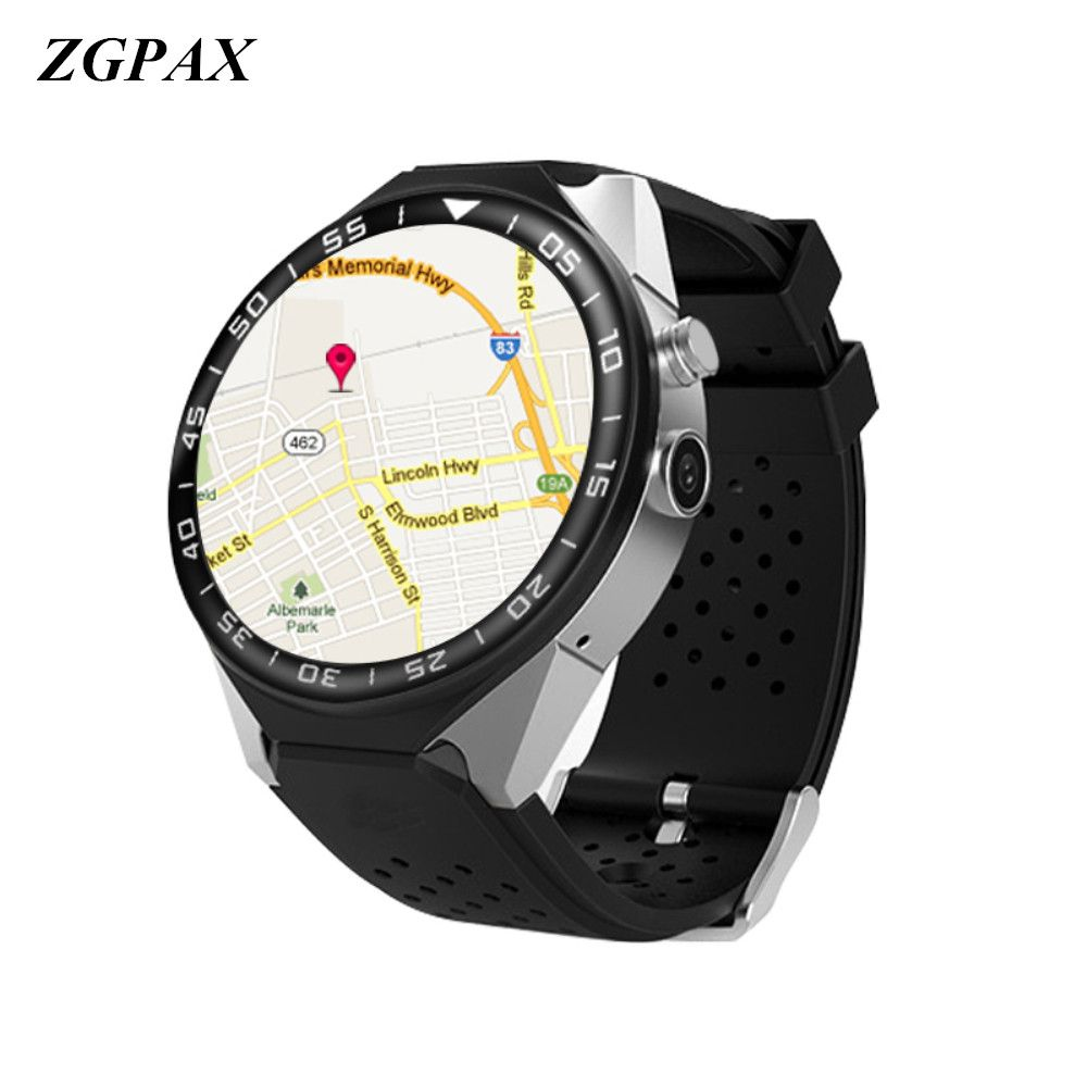 ZGPAX S99C Smart Watch Android 5.1 OS 1GB Ram 16GB Rom 5.0 MP MTK6580 Quad Core 3G GPS Wristwatch 1.39