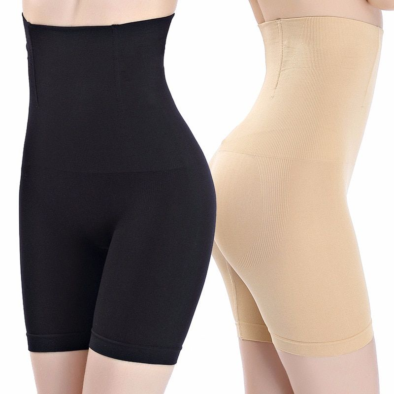 SH-0006 Women High Waist Shaping Panties Breathable Body Shaper Slimming Tummy Underwear panty shapers