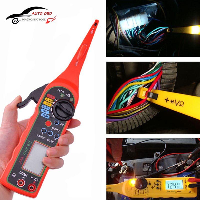 NEW Automotivo Multi-function Auto Circuit Tester Multimeter Lamp Car Repair Automotive Electrical Multimeter Diagnostic Tool