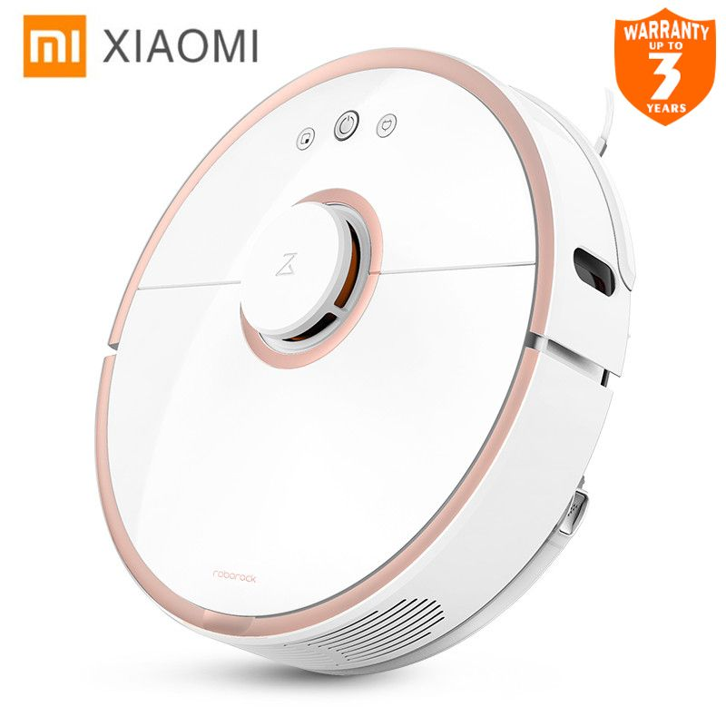 Xiaomi New Original Robot Vacuum Cleaner 2 Wet Drag Mop Smart Planned with Water Tank Automatic Sweeping Dust WIFI APP Control