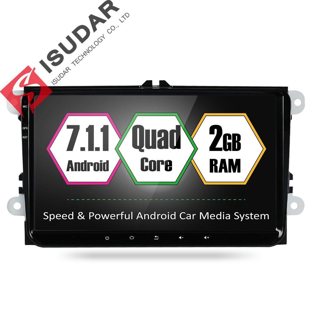 Android 7.1 9 дюймов автомобиля dvd плеер стерео система для VW/Volkswagen/Passat/Гольф/Skoda/ сиденье Octa ядер 2 ГБ оперативной памяти gps-навигация радио