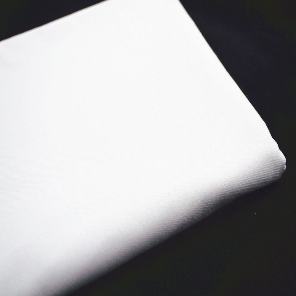 50*150 cm coton blanc mètre tissu Patchwork paquet Tilda couture Textiles popeline bricolage Draperies Telas Tissus feutre Costura