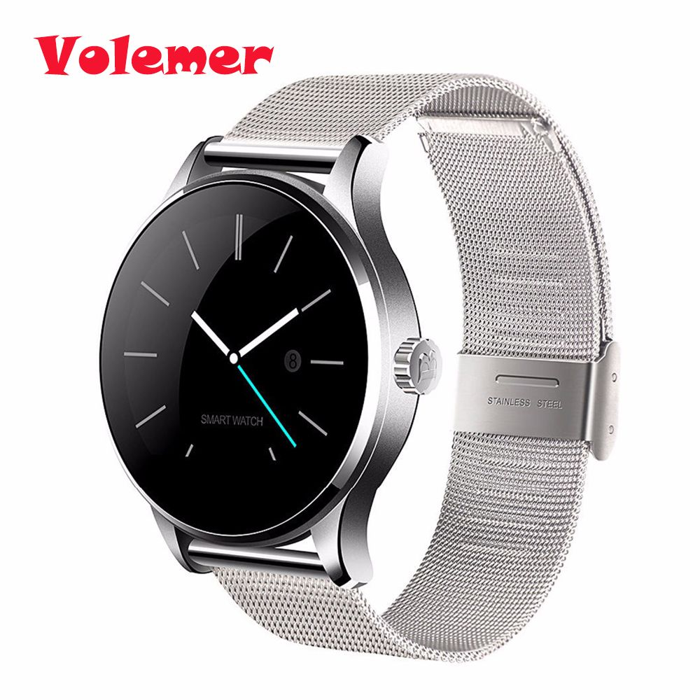 Volemer K88H Bluetooth Smart Watch sport Health Smartwatch Heart Rate Monitor for Xiaomi Huawei Android ISO Phone pk kw88