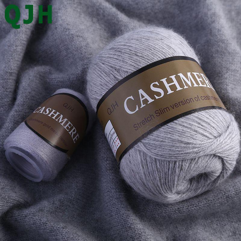 Meilleur Qualité 100% Mongol Cachemire Cachemire tricoté à La Main Fil De Laine Cachemire À Tricoter Pelote Écharpe Laine Yarny Bébé 50 grammes