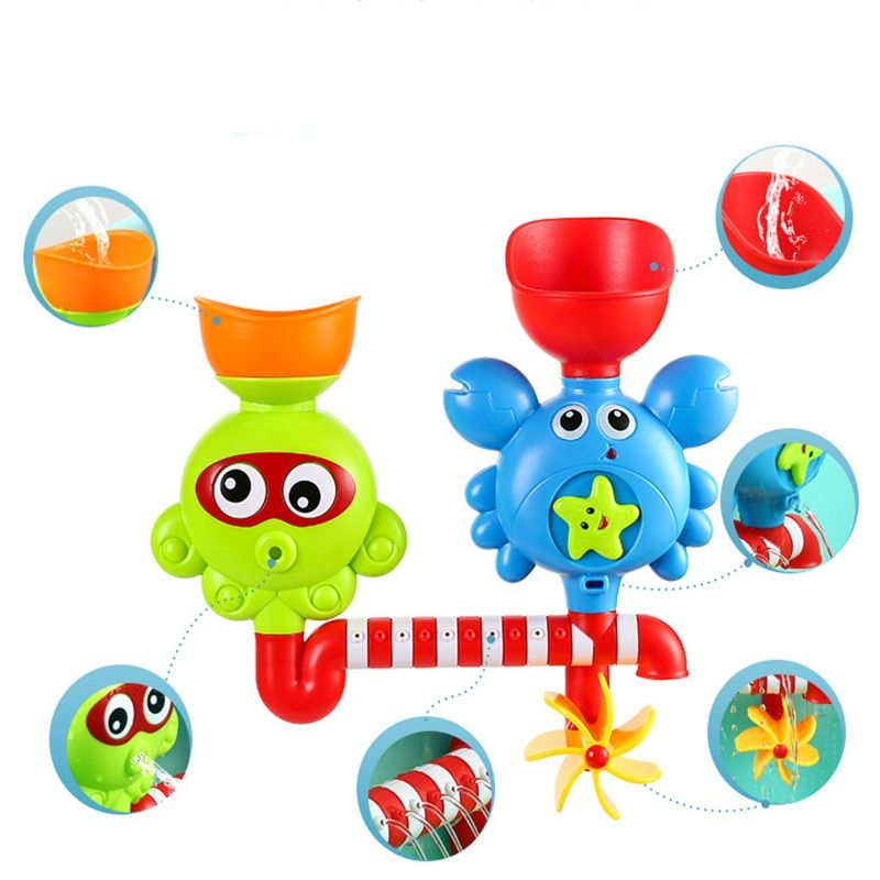 XMX New Dream. Baby Bath Toys <font><b>bathroom</b></font> pool Toy For kids/Children bathing