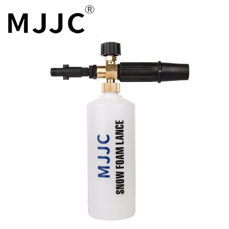 MJJC Brand New Foam Lance For Nilfisk Rounded Fitting for Nilfisk, Gerni, Stihle Pressure Washers New type snow foam lance 2017
