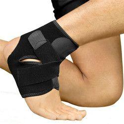 1 PC Sicherheit Ankle Unterstützung Gym Lauf Schutz Schwarz Fuß Bandage Elastische Ankle Brace Band Wache Sport Tobilleras Deportivas