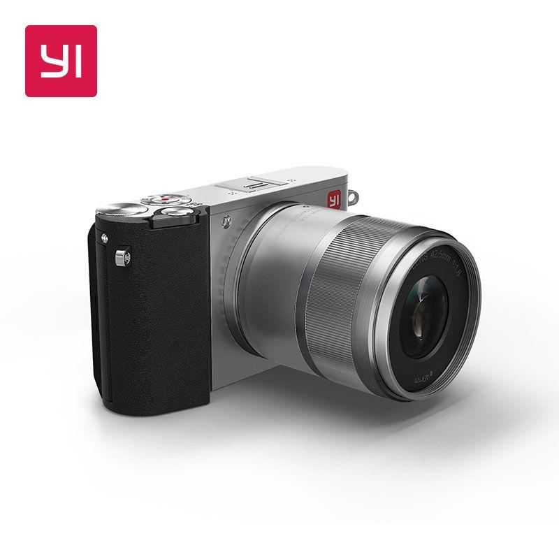YI M1 Mirrorless Digital Camera Prime Lens LCD Minimalist International Version 20MP Video Recorder 720RGB Digital Cam