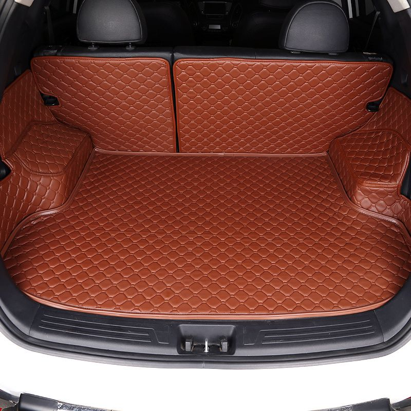 HLFNTF Custom Car Trunk Mat for KIA K1 K2 K3 K4 K5 Kia rio Cerato Sportage Optima Maximacar car styling car accessorie