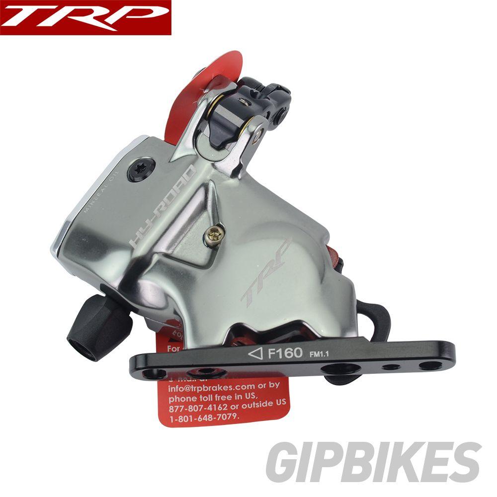 TRP Trp HY/RD Flache Montieren Kabel Betätigte Hydraulische Scheiben Bremse Vorne Hinten 160mm, w/oder w/o Rotor HY-Straße CX Fahrrad sattel Grau