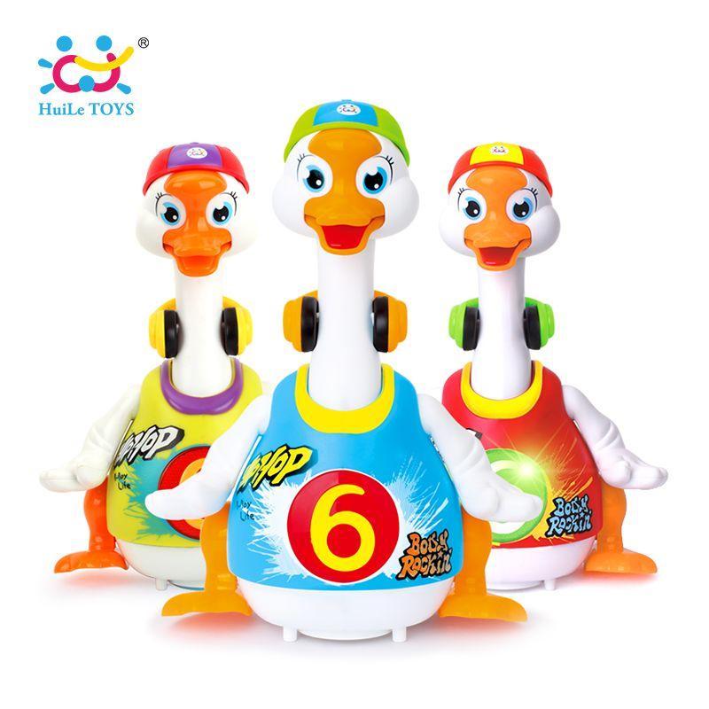 HUILE JOUETS 828 Bébé Jouets Électrique Hip Pop De Danse Lire et raconter L'histoire et Interactif Swing Goose Enfants D'apprentissage Jouets Éducatifs Cadeaux