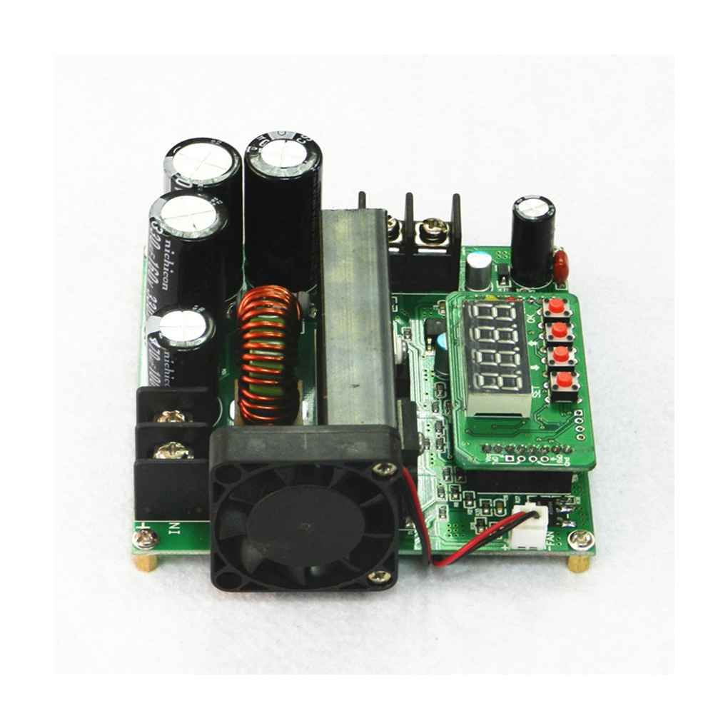 900W Digital Control DC-DC Boost Module 0-15A IN 8-60V OUT 10-120V Step-up Converter Power Supply CC/CV LED Display