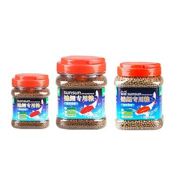 sunsun Koi fish feed Kam fish food Spirulina enrichment goldfish feed goldfish food size particles/ diameter 1.5mm
