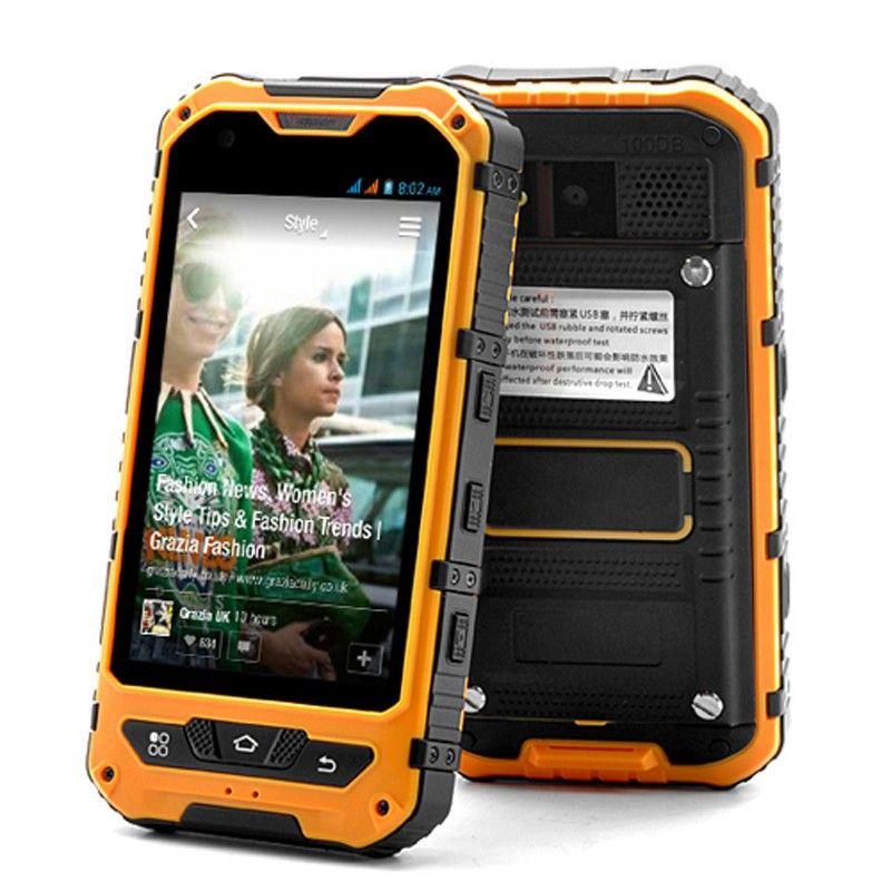 Original A8 IP68 A9 V9 Waterproof <font><b>Shockproof</b></font> nfc Rugged smartphone MTK6582 Quad Core Android 4.4 1GB RAM 8GB 3G GPS Mobile Phone