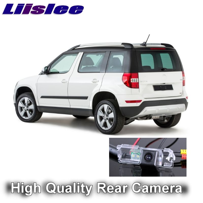 Car Camera For Skoda Yeti 5D SUV 2009~2017 LiisLee Ultra HD reversing camera automobile rearview imag For Fans | CCD + RCA