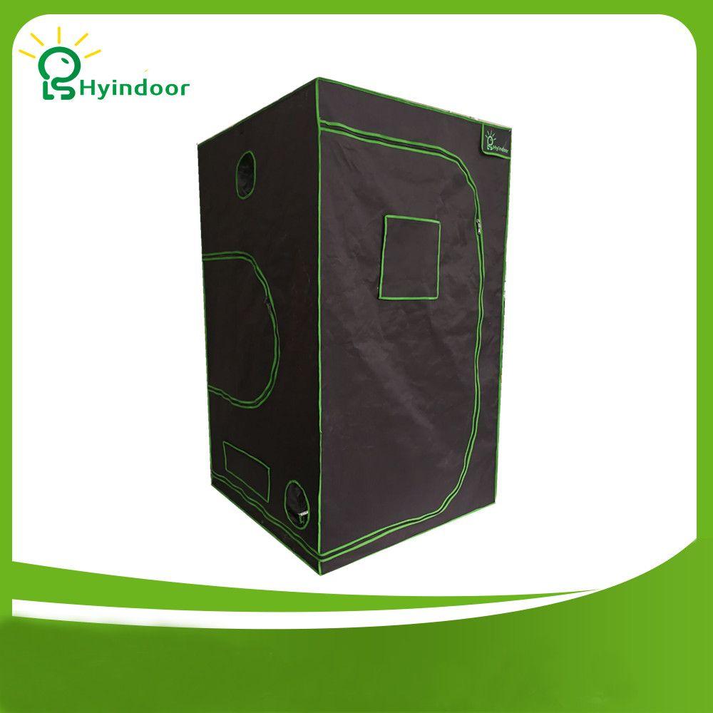 Hyindoor 120*120*200(48*48*78'')Indoor Hydroponics Grow Tent Greenhouse Reflective Mylar Non Toxic Room Invernaderos Kweektent