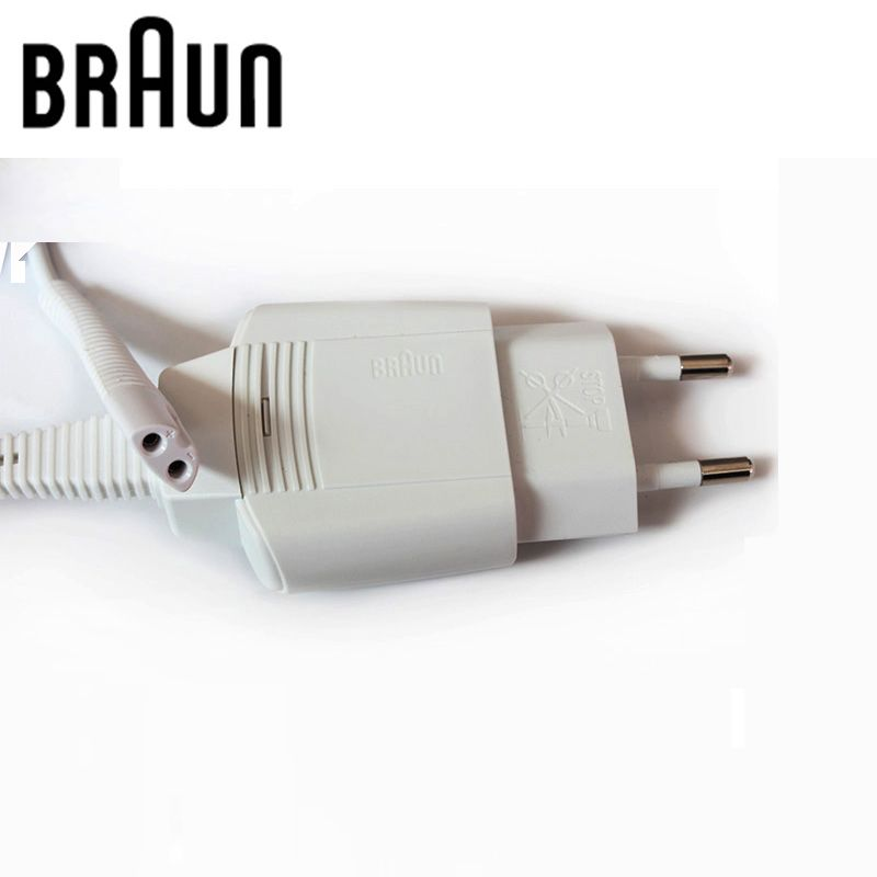 Braun Shavers Charger Europe Charging Cable Input 100-240V Output 12V IPX4 Waterproof Brand New White