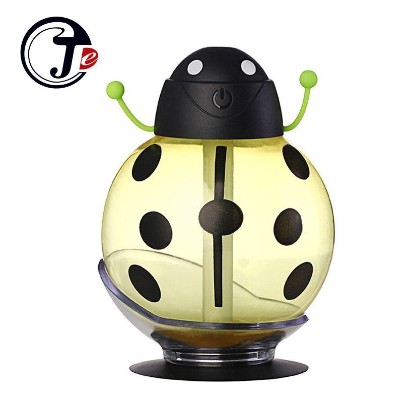 LED Lumière Humidificateur USB Humidificateur Aromathérapie Diffuseur pour La Maison Voyage Mist Maker Humidificateurs Brumisateur avec 360 Degrés Rotation