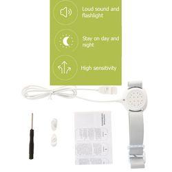 Profesional Lengan Memakai Mengompol Sensor Alarm untuk Bayi Balita Dewasa Potty Training Basah Pengingat Tidur Enuresis Plaswekker