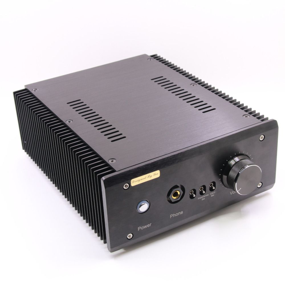 Fertig L. Pass Bin Se 20 watt * 2 Pure Class A Endstufe & HiFi Kopf telefon Verstärker