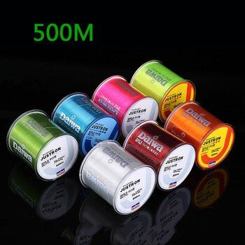Nylon Line Super Strong Nylon Fishing Line 500M 2-35LB Monofilament Line Japan Material Fishline for Carp fishing