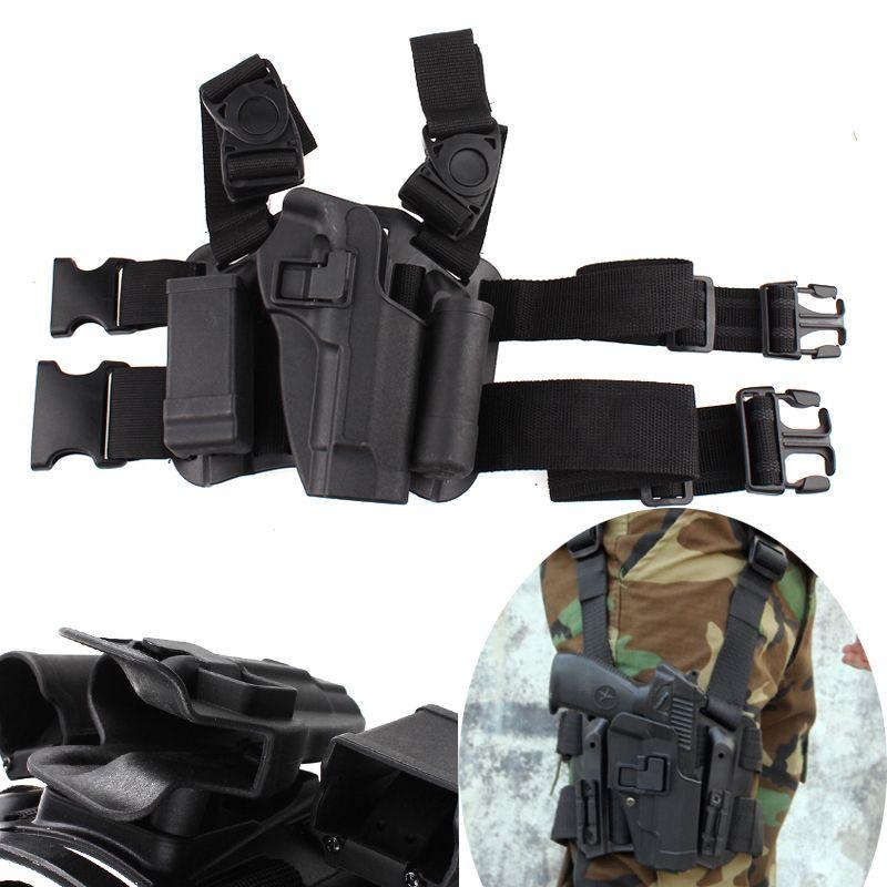 Gun Case Tactical Right Thigh Leg Holster for Beretta 92 96 M9