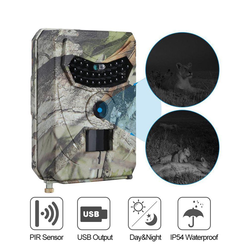 1080P Hunting Cameras IP54 Waterproof Night Vision for Animal Photo Wildlife Camera 940nm 120 Degree Viewing Camera Traps 19