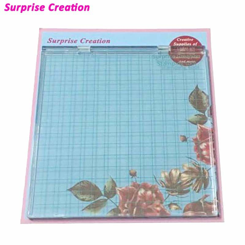 Surprise Creation Stamping Tool - Perfect Positioning & Stamping with Clear Stamps - Scrapbook Craft Stamping