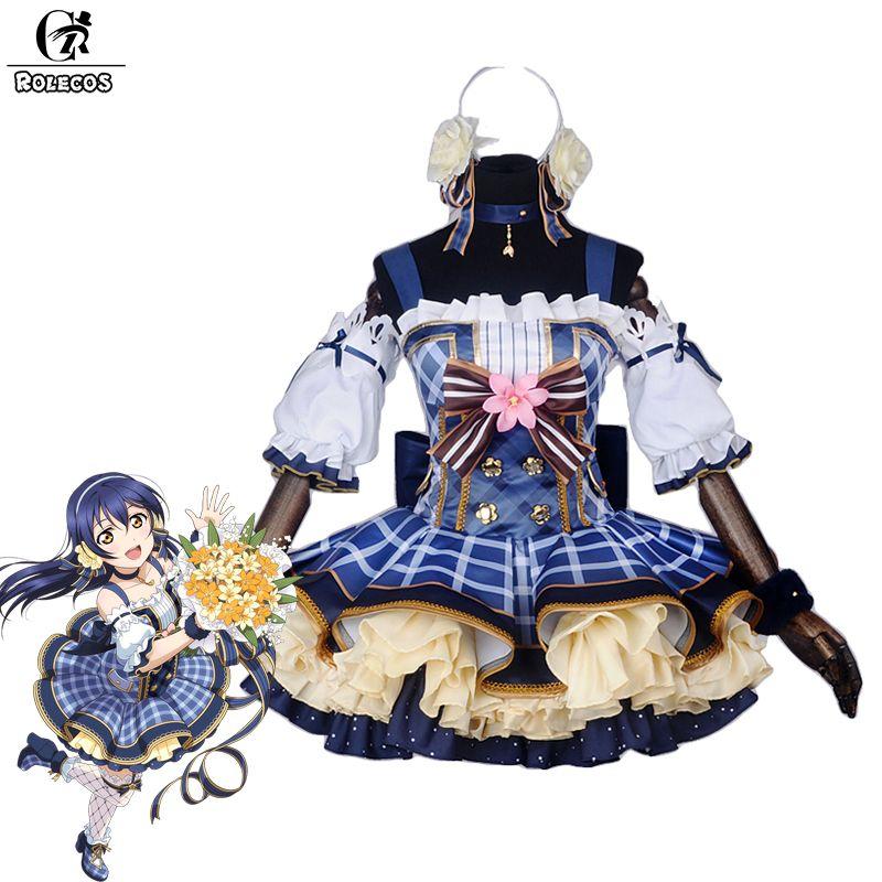 Rolecos японского аниме Love Live! Костюмы для косплея букет arousa Косака Хонока Котори минами аясе Эли Косплэй костюм