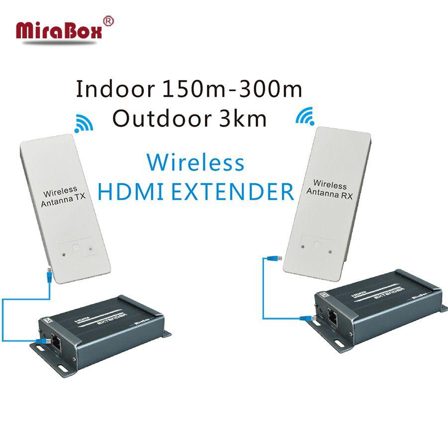 Беспроводной HDMI приемник передатчик, hsv891w 1080 P Беспроводной hdmi extender до 3 км открытый DHL/EMS/Aramex Бесплатная доставка
