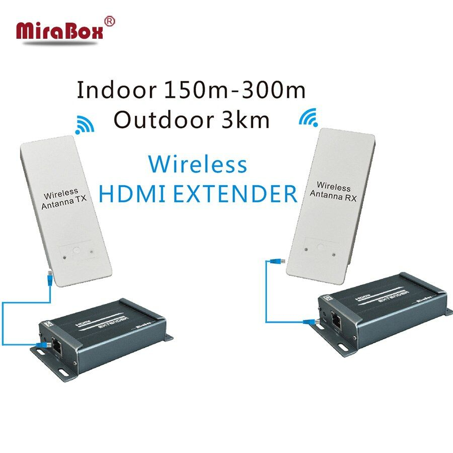 HDMI inalámbrico Transmisor Receptor, HSV891W 1080 P Wireless HDMI Extender Hasta 3 KM Al Aire Libre DHL/EMS/Aramex Envío Gratis