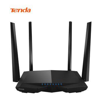 Tenda ac6 Беспроводной Wi-Fi маршрутизатор 1200 м 11ac Dual Band Беспроводной Wi-Fi ретранслятор 2.4 г/5 г приложение Дистанционное управление EU/US прошивки RU п...