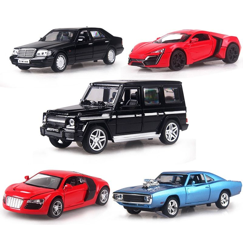 4 color 1:32 Scale 16CM Alloy Cars S320 W140 car Pull Back Diecast Model Toy with sound light Collection Gift toy Boys Kids