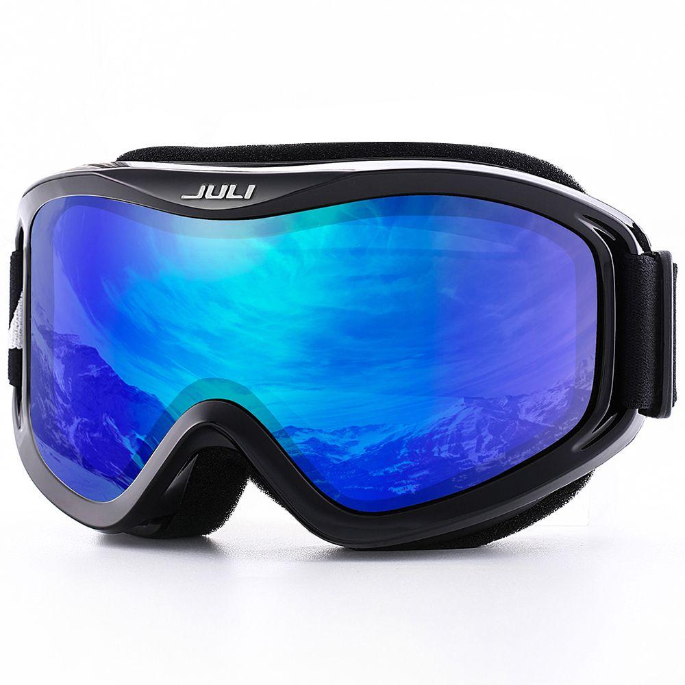 Snow Snowboard,Over Glasses Ski Goggles for Men, Women & Youth - 100% UV Protection Anti-fog Dual Lens Ski mask glasses skiing