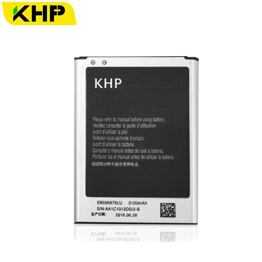 100% Note 2 KHP Batterie D'origine Pour Samsung Galaxy Note 2 II N7100 N7105 Réel 3100 mAh AAA Remplacement Mobile Téléphone Batteries
