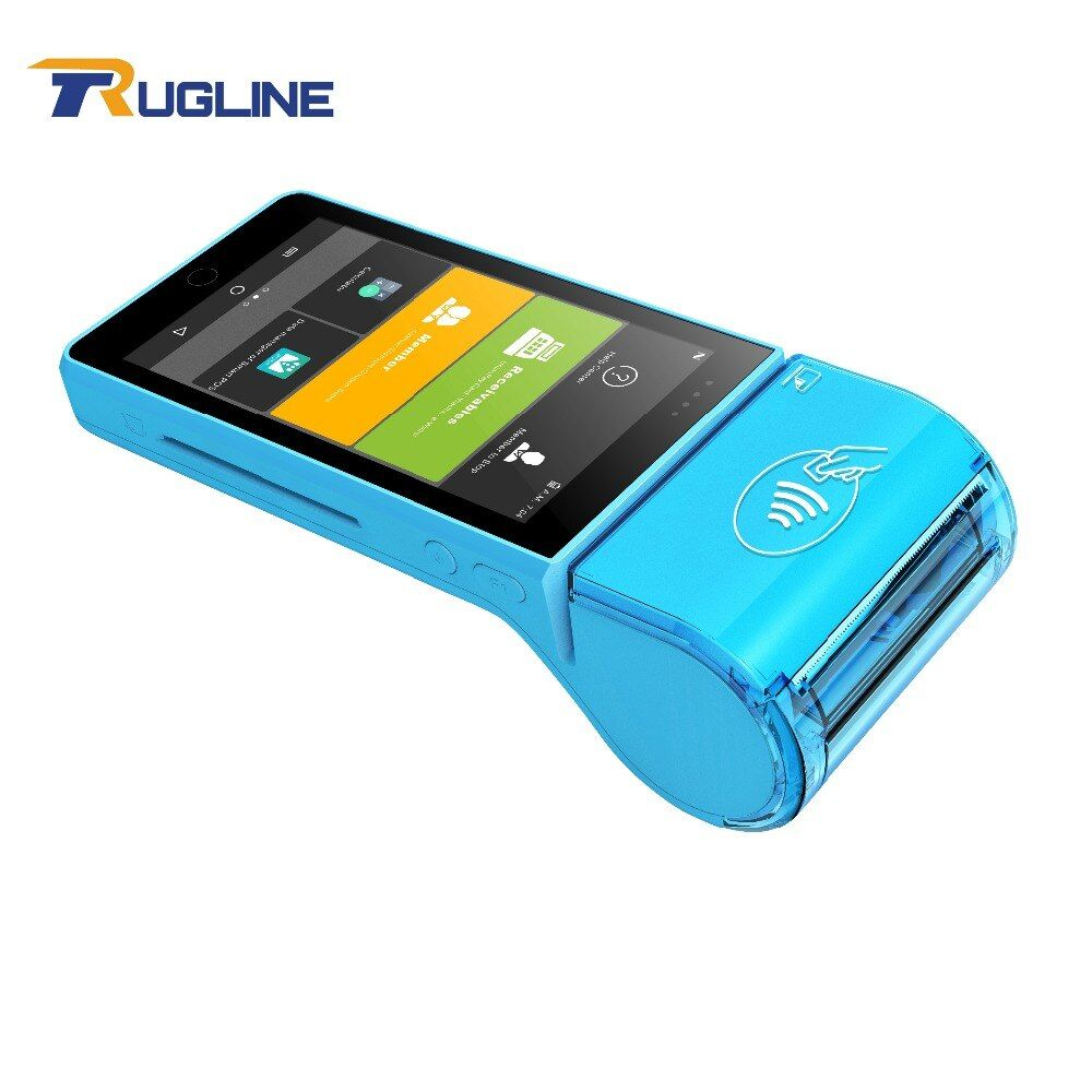 Android 7.0 New Bank Payment Terminal 5 Inch Touch Screen POS Machine With IC Card Reader Magnetic Card Contactless Card Reader