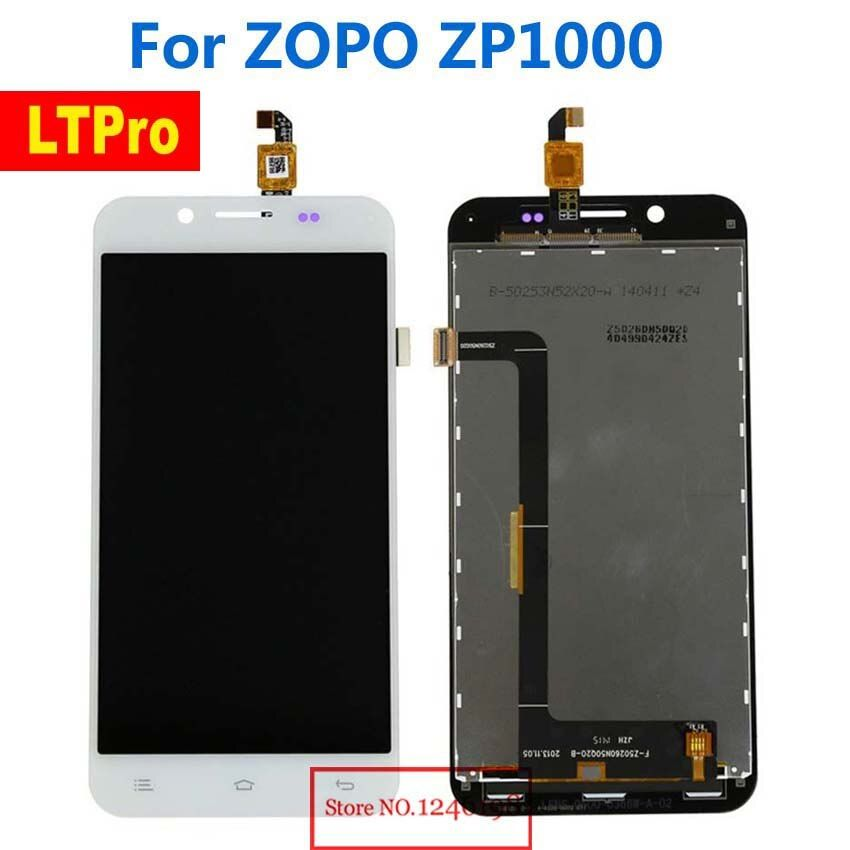 LTPro TOP Quality Working New LCD Display Touch Screen Glass Digitizer Assembly For ZOPO ZP1000 Smartphone Parts