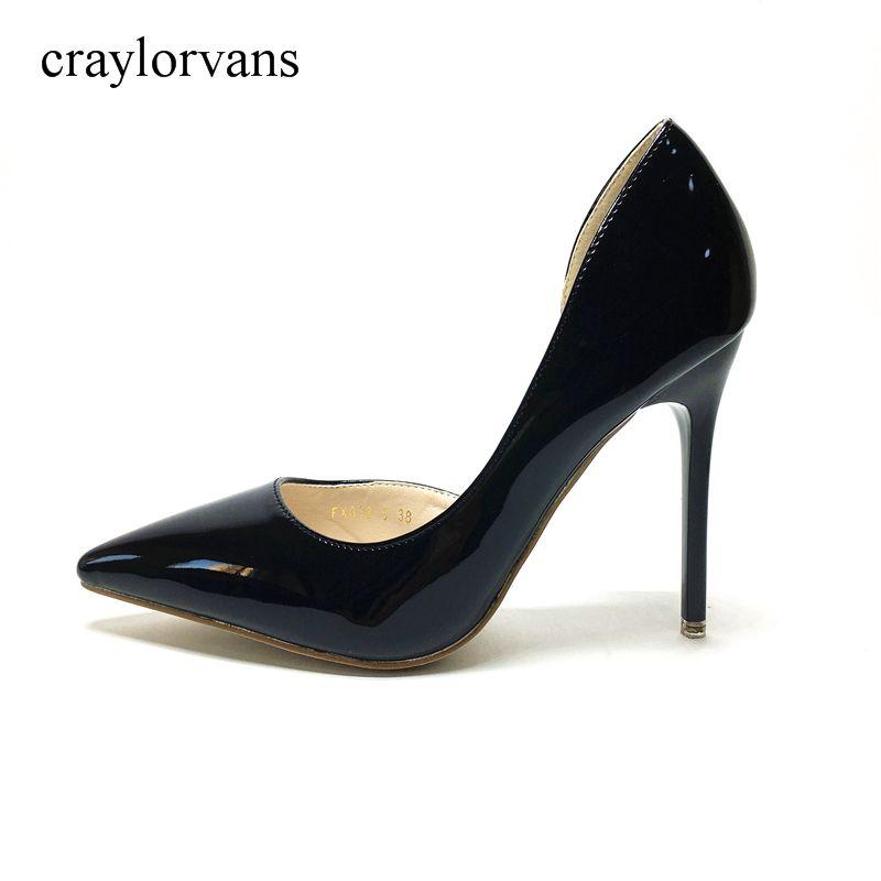V JIA CUGEN Women High Heels Shoes Women Shoes High Heels Bridal Shoes Sexy 2017 NEW Woman High Heels Black Shoes PUSexy Pumps