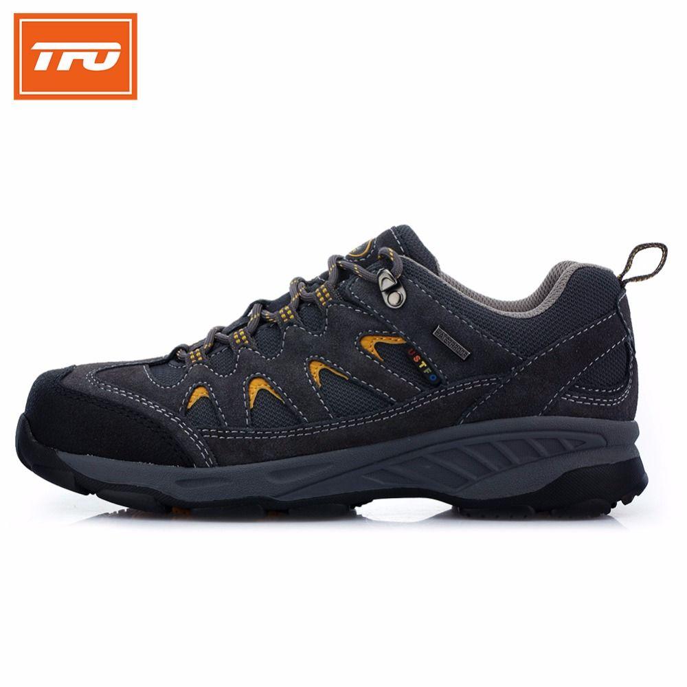 TFO escalada de montaña Senderismo zapatos hombres mujeres zapatillas de deporte al aire libre impermeable transpirable entrenadores de tenis de camping 2017
