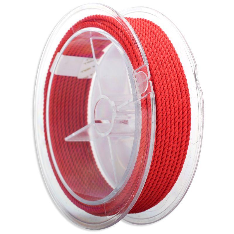 2.5mm fil de soie milan cordon bijoux à bricoler soi-même & emballage & chaussures corde colliers & Bracelets cordons 30 couleurs No.1-15 couleur 5 mètres/rouleau