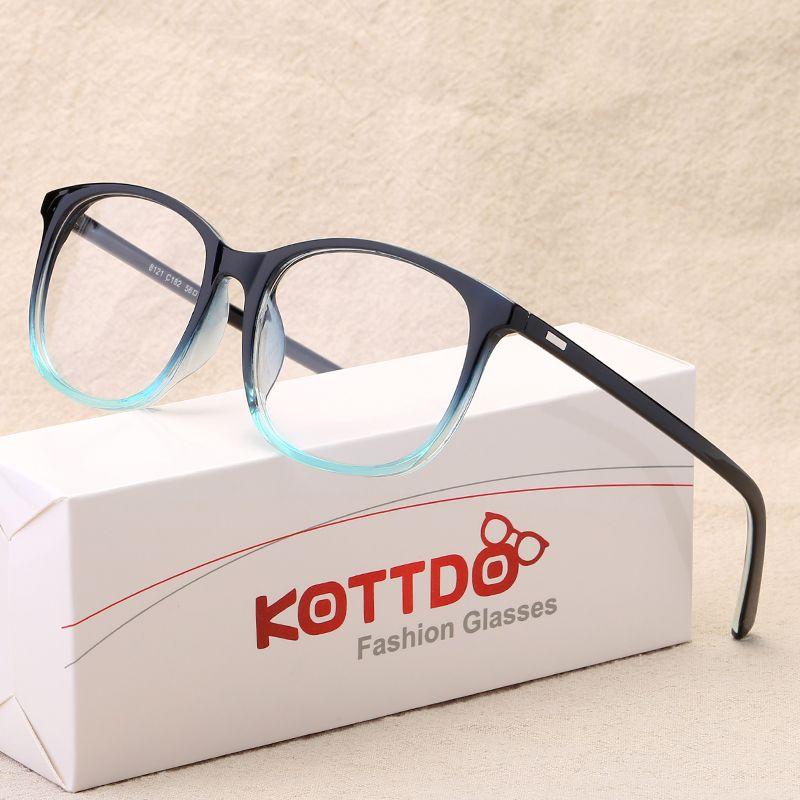 KOTTDO 2017 Fashion Women Clear Lens Eyewear New Luxury Brand Designer Men Women Eyeglasses Frames Women's Glasses oculos